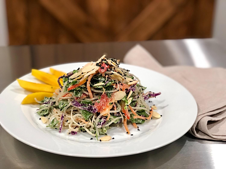 Rainbow Kelp Noodle Salad