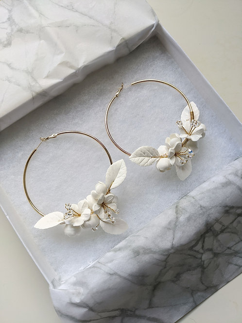 BLOOM Hoop Earrings
