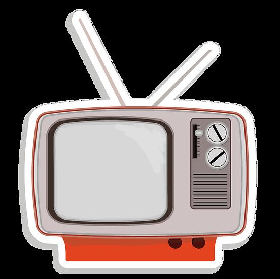 POSTE TV RÉTRO