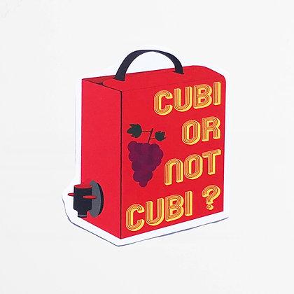 CUBI OR NOT CUBI?