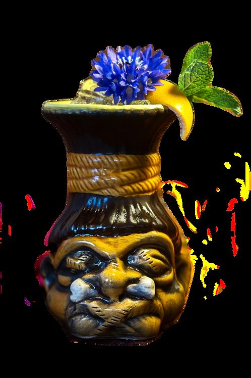 Tiki Shrunken head (full colour)