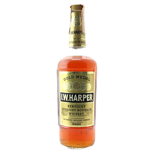 I.W. Harper Gold Label 1970 Bourbon