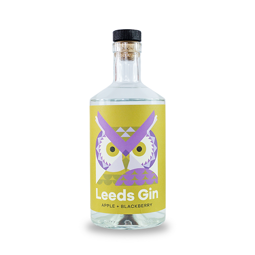 Leeds Gin - Apple and Blackberry 70cl