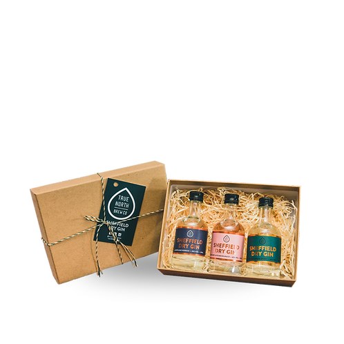 Sheffield Dry Gin - Miniature Gift Set (3 x 5cl)