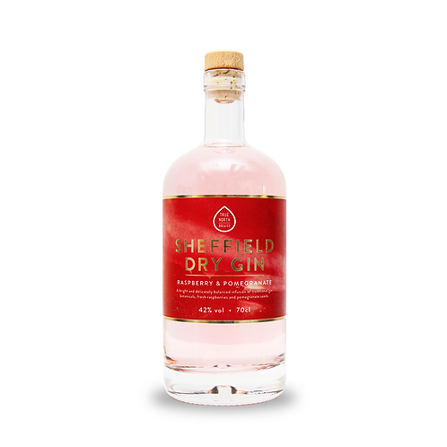 Sheffield Dry Gin - Raspberry and Pomegranate 70cl