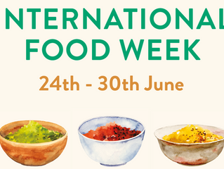 Around the world in seven days with International Food Week