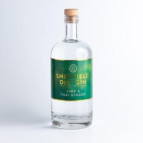 Sheffield Dry Gin – Lime & Thai Ginger