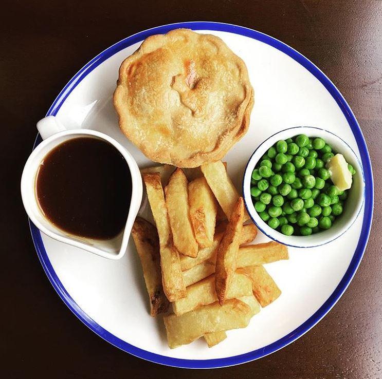Pie at The Devonshire, Sheffield