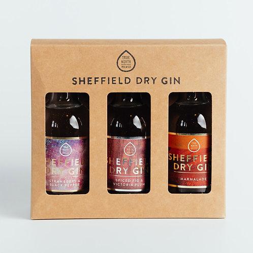 Sheffield Dry Gin 20cl Winter Trio