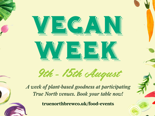 Vegan week returns with an exciting line up of special dishes