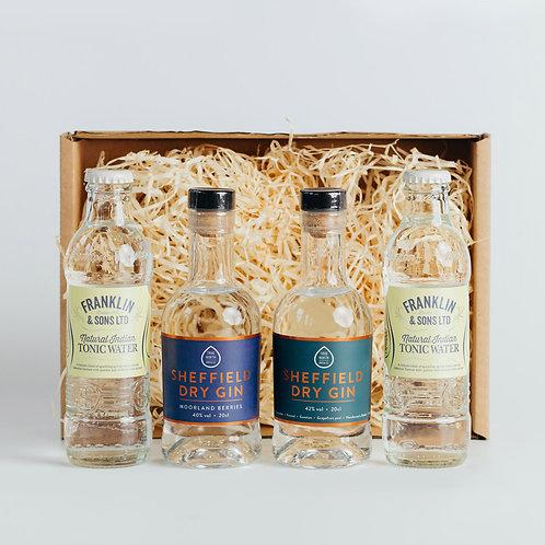 Sheffield Dry Gin & Tonic Duo