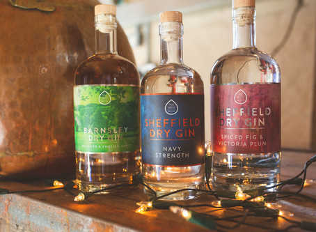 SHEFFIELD DRY GIN LAUNCHES NEW 57% GIN AND THREE GIN LIQUEURS IN A RANGE THAT'S PERFECT FOR AUTUMN /