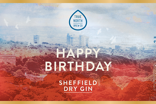 Personalised Sheffield Dry Gin (70cl)