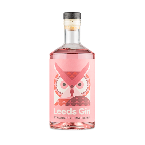 Leeds Gin - Strawberry and Raspberry 70cl