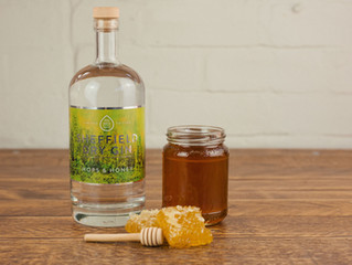 Just in Time for spring: Sheffield Dry Gin Hops & Honey limited release