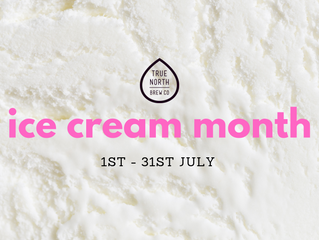 A whole month dedicated to ice cream...