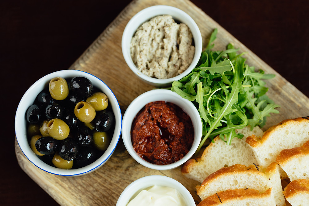 One of our small plates!