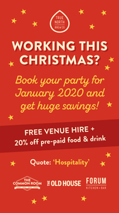 hospitality offer - 20% off