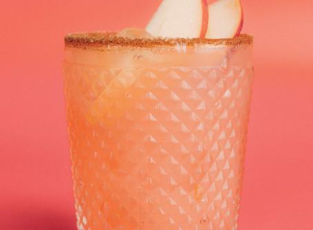 Apple & Rhubarb Crumble| Cocktail recipe