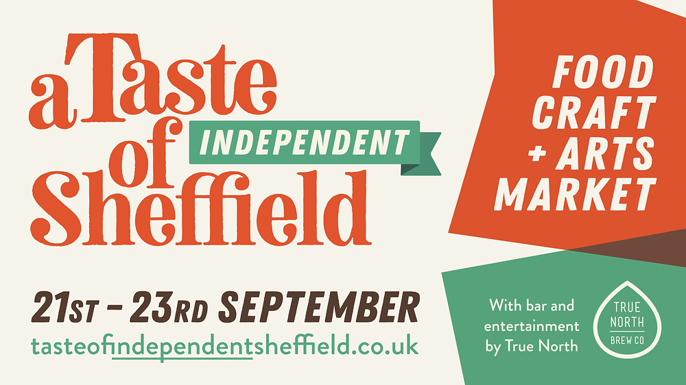 Banner for 'A Taste of Independent Sheffield'