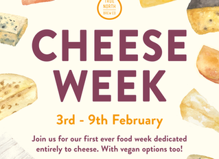 An entire week of cheese at True North