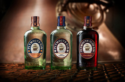 Plymouth Gin Bottles
