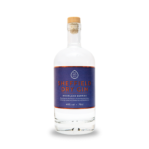 Sheffield Dry Gin - Moorland Berries 70cl