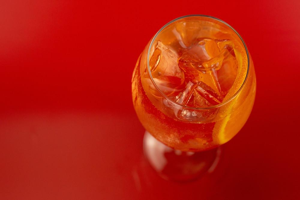 Blood Orange Spritz