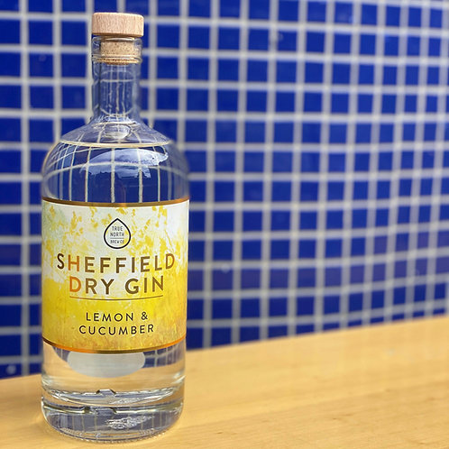 Sheffield Dry Gin - Lemon and Cucumber