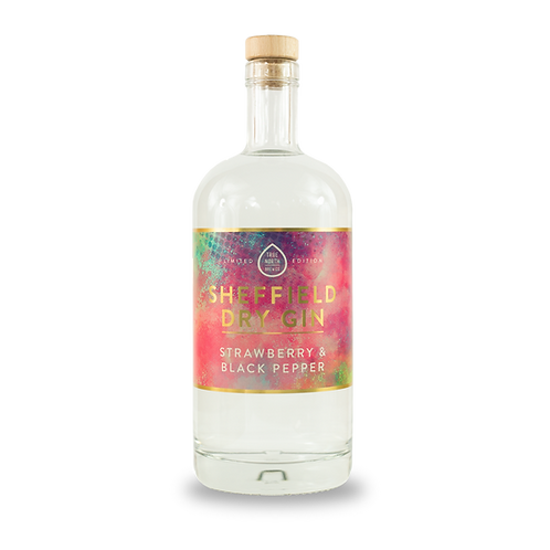 Sheffield Dry Gin - Strawberry and Black Pepper 70cl