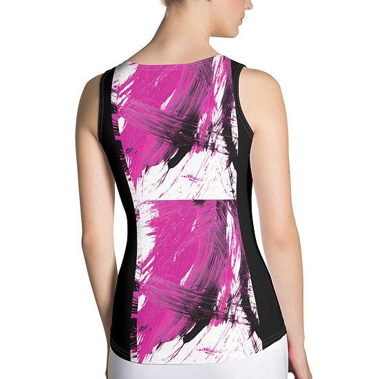 Magenta Fine Art Print Sublimation Cut & Sew Tank Top