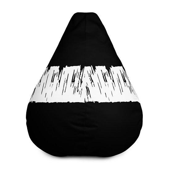 Black and White Artistic Bean Bag Chair Cover