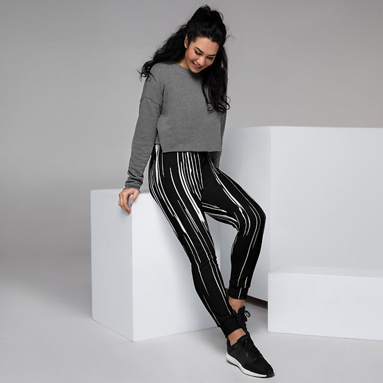 Abstract Print Women's Joggers