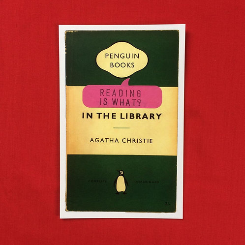 READING IS WHAT AGATHA