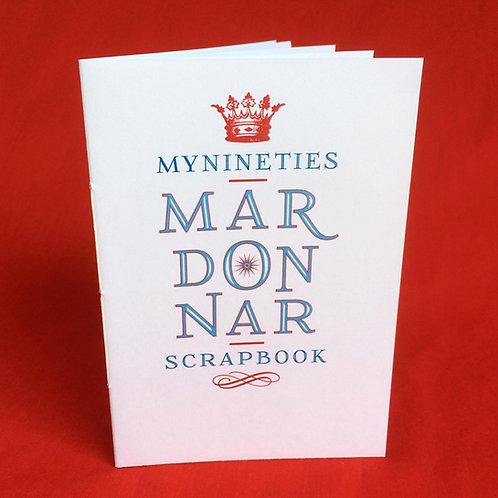 MY NINETIES MADONNA SCRAPBOOK
