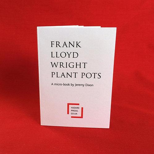 FRANK LLOYD WRIGHT PLANT POTS