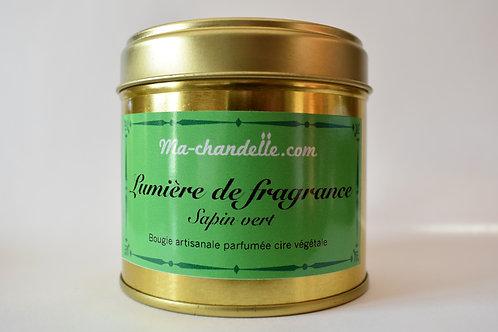 Bougie parfumée Sapin Vert