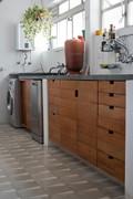 Gabinete de Cozinha de Assoalho