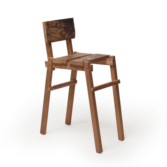 Cadeira Longa de Ponta de Viga Aberta
