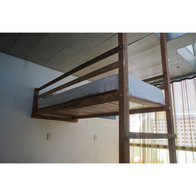 Cama Suspensa de Deck com Escada de Telhado