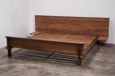 Cama de Assoalho 263 x 226 x 80 cm
