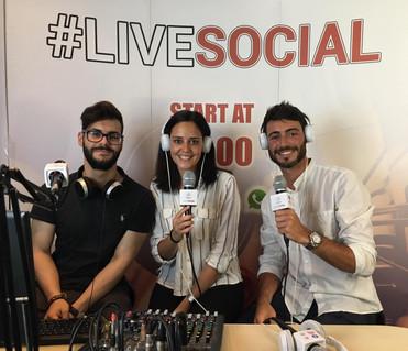 Intervista Radio VeronicaOne