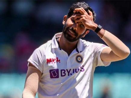 இந்திய அணியின் வேகப்பந்து வீச்சாளார் பும்ரா விடுவிக்கப்படுவதாக பிசிசிஐ அறிவித்துள்ளது.