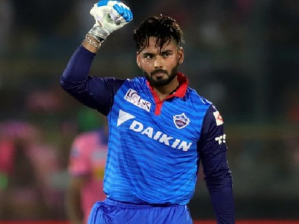டெல்லி கேபிடல்ஸ் அணியின் புதிய கேப்டன் ரிஷாப் பண்ட்.
