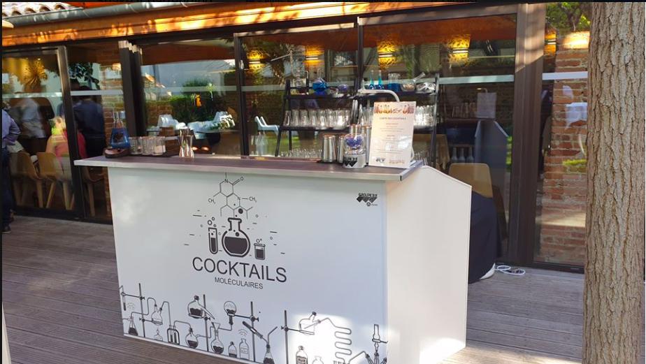bar cocktail moléculaire