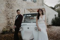 mariage food truck bar
