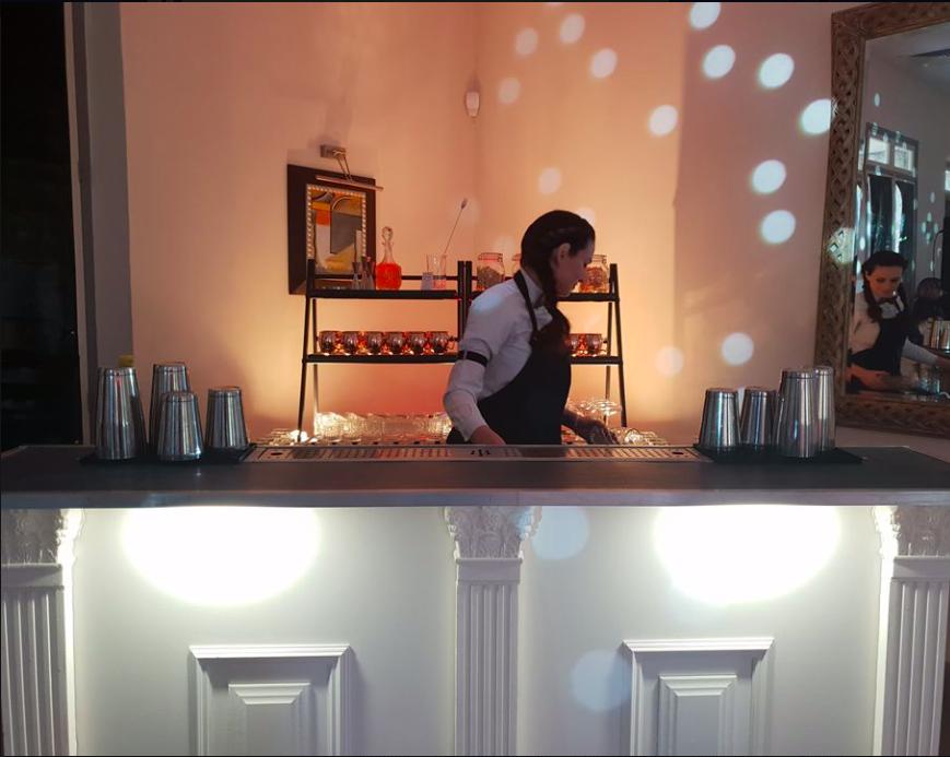 bar cocktail blanc mariage