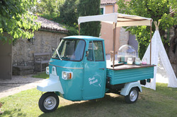 food truck vintage barbe a papa