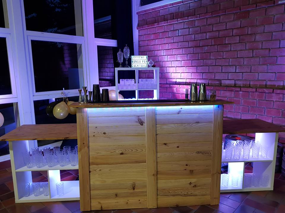 bar cocktail mariage champetre
