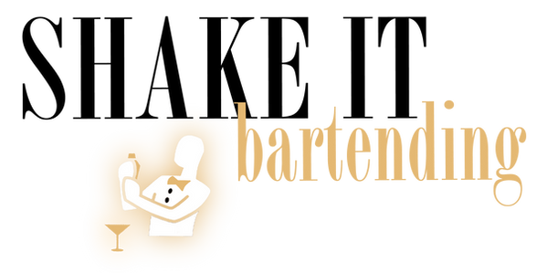 logo de shake it bartending